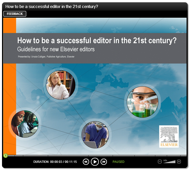How to be a successful editor in the 21st century