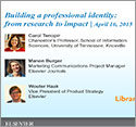 Webinar: 3 critical steps to building a professional identity as a researcher