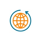 Icon orange globe | Elsevier