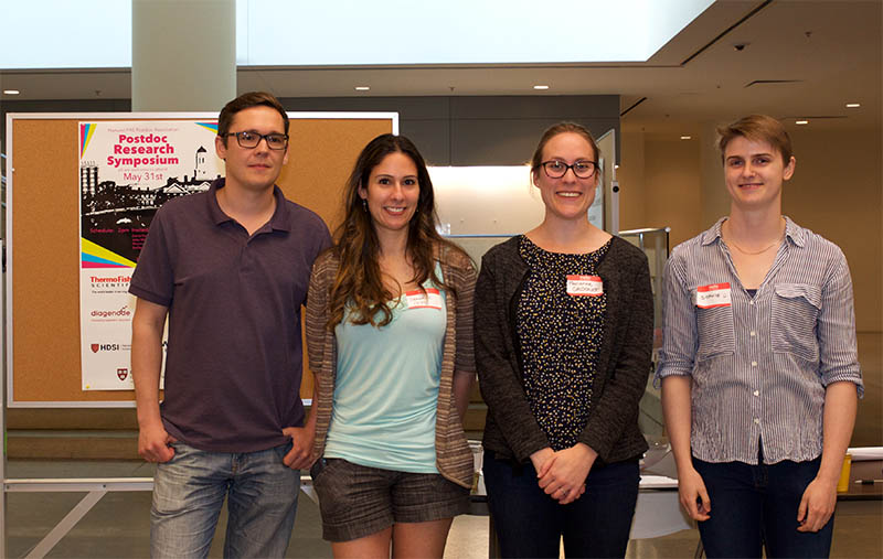 Poster winners were Andrey V. Shubin, PhD, and Jenan Kharbush, PhD (tied for third place); Marianne Grognot, PhD (first place); and Sophie Pryal Regnault, PhD (second place). They are all postdoctoral researchers at Harvard.