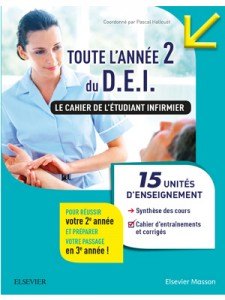 """Sortie du livre """"Toute l'année 2 du D.E.I. Le cahier de l'étudiant infirmier"""""""