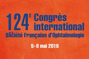 Congrès de la Société Française d'Ophtalmologie du 5 au 8 mai 2018 à Paris
