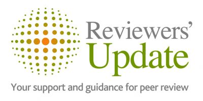 Welcome to a new year of Reviewers' Update