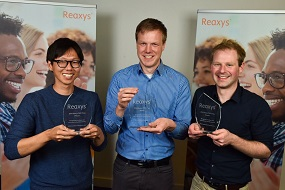 The three winners of the 2016 Reaxys PhD Prize | Elsevier