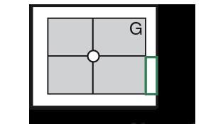 Cassette (ERLM) 24 × 30 cm en portrait (face) ou paysage (profil) ou capteur plan (CP)