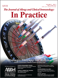 The Journal of Allergy and Clinical Immunology: In Practice