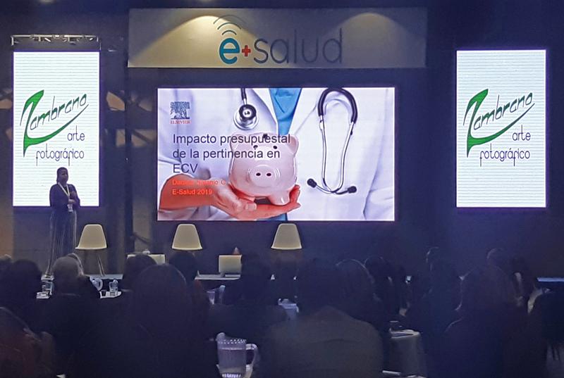Daniela Naranjo de Elsevier en eSalud