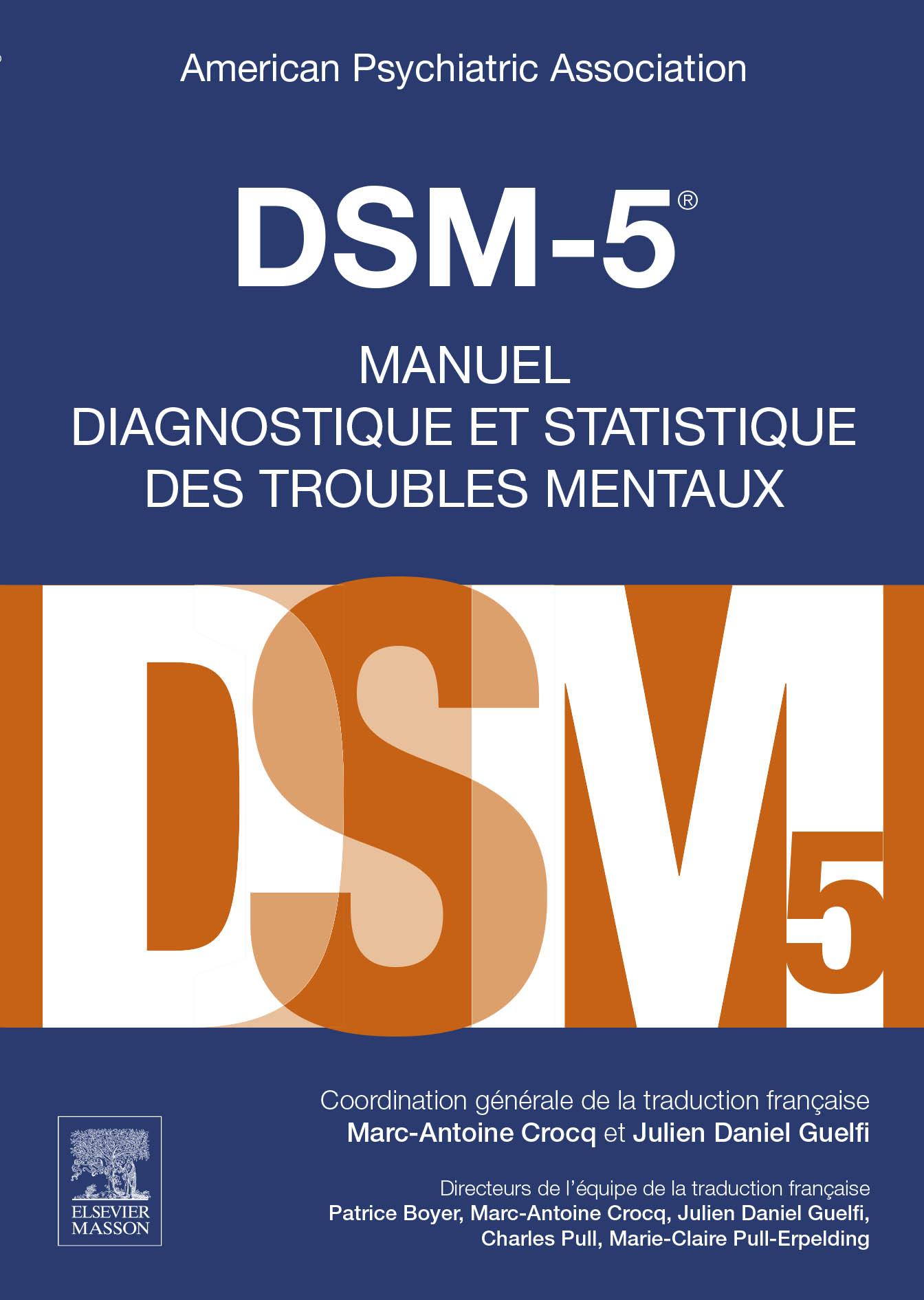 DSM-5 Livre Elsevier