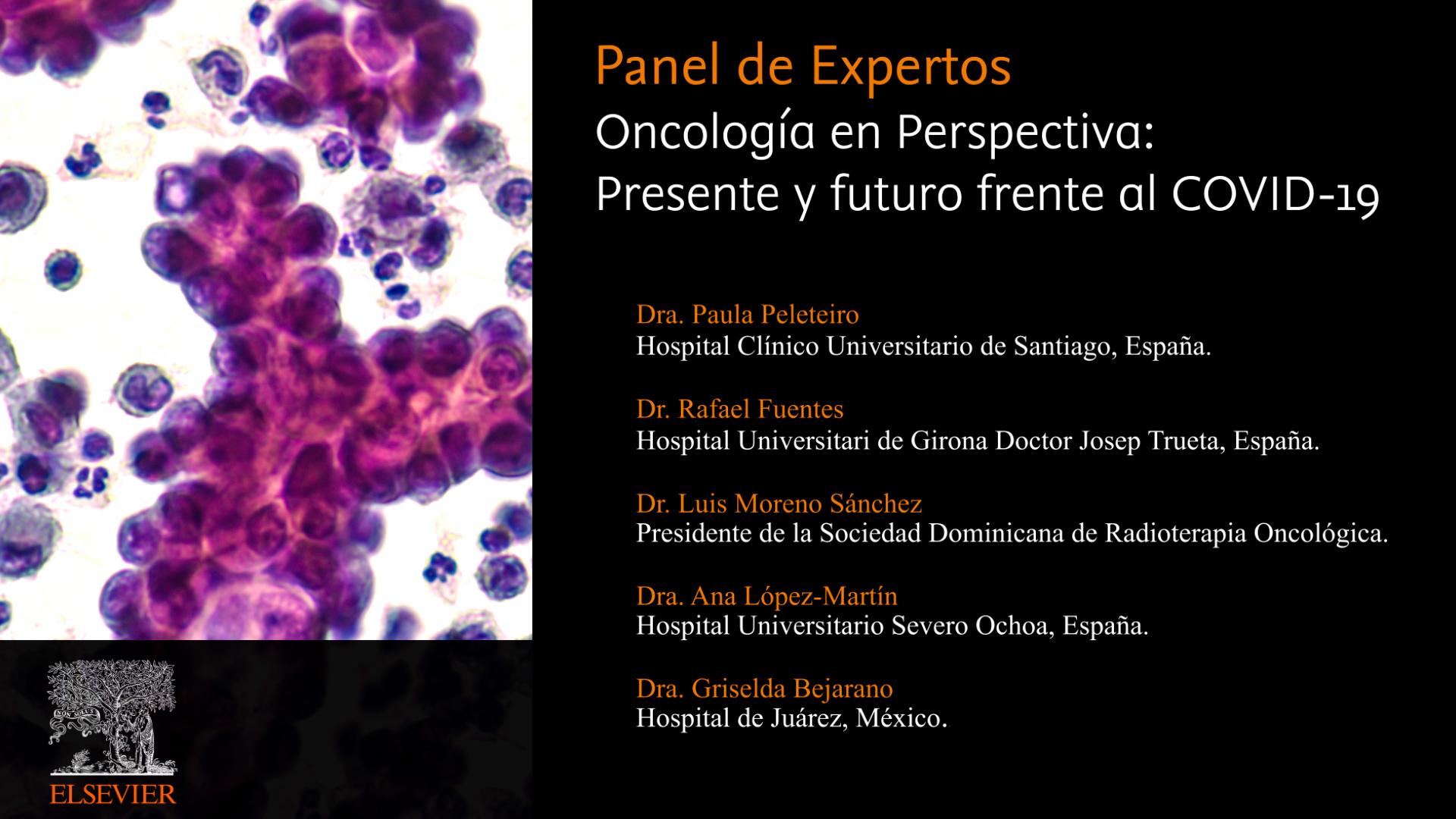 Oncología en perspectiva: presente y futuro frente a la COVID-19