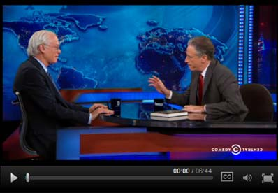 Martin Blaser, MD, on The Daily Show with Jon Stewart