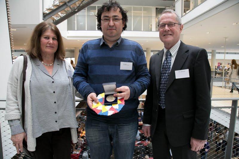 Winner of the N.G. de Bruijn-prize