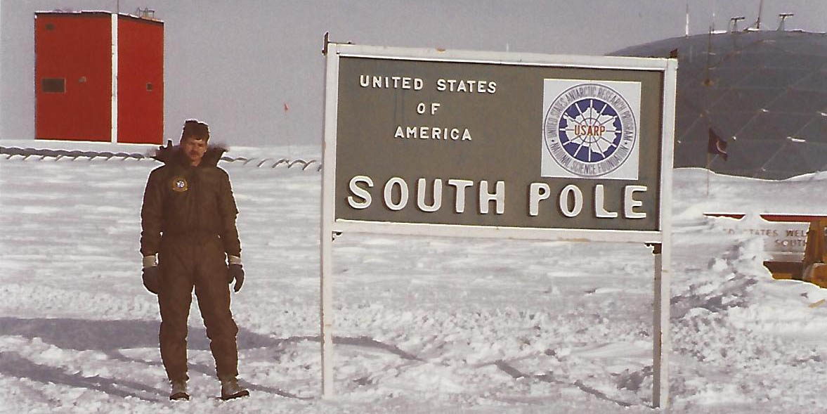 Robert tow in south pole