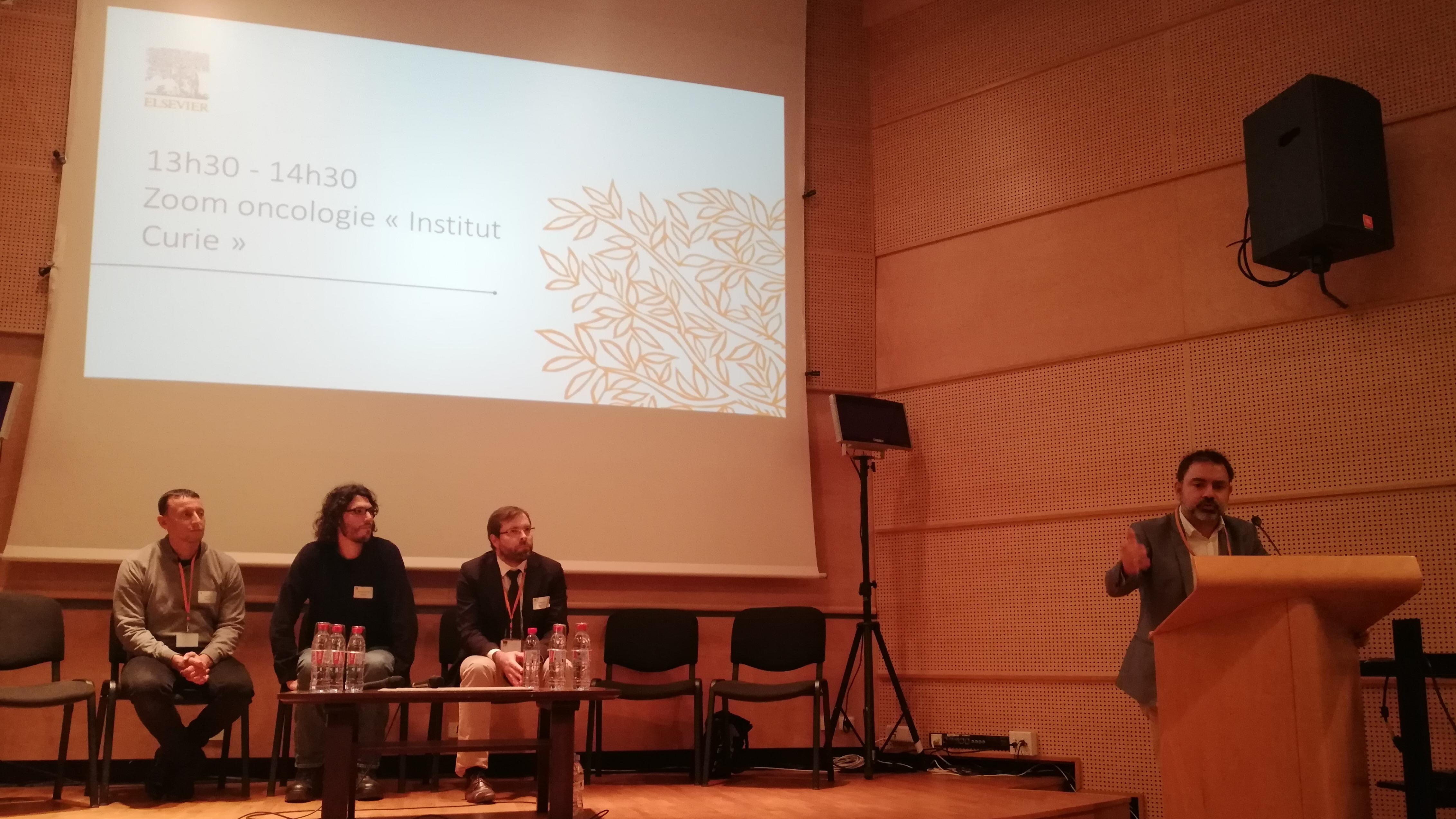 Institut Curie présente ses projets
