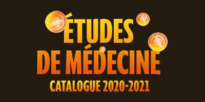 Le catalogue Étudesde médecine 2020-2021