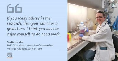 For success in science, follow your passion, says Fulbright scholar at NIH