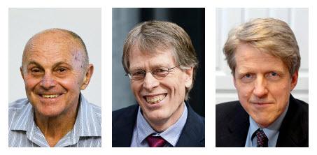 Dr. Eugene F. Fama, Dr. Lars Peter Hansen and Dr. Robert J. Shiller