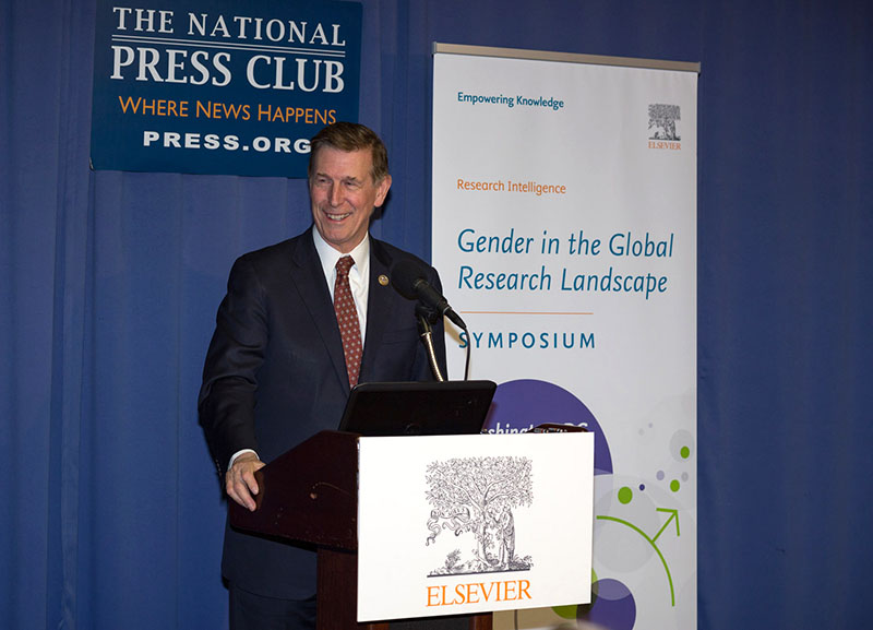 US Rep. Don Beyer (D-Virginia) talks about the economic importance of gender equality in STEM fields – and measuring the progress with data.
