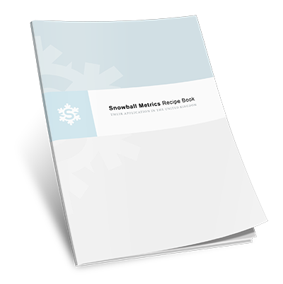 Snowball Metrics Recipe Book