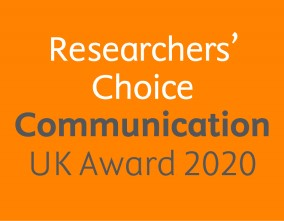 The Researchers' Choice Communication Award 2020