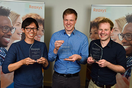 2016 Reaxys PhD Prize Winners Announced | Elsevier