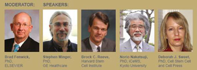Speakers at World Stem Cell Summit