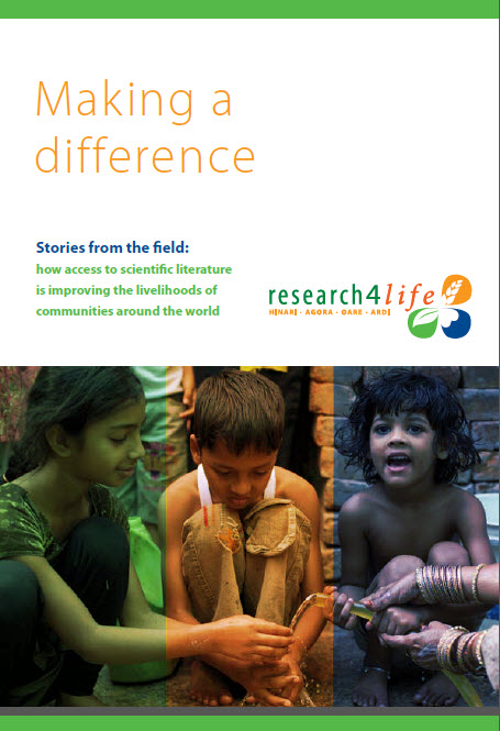 This free booklet is available on the Research4Life website.