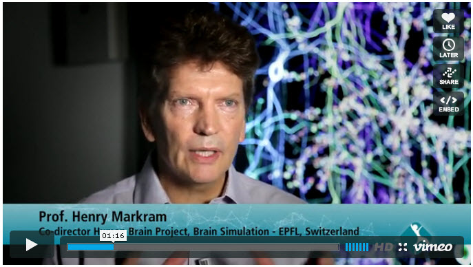 The Human Brain Project. Dr. Henry Markram and his colleagues give an overview