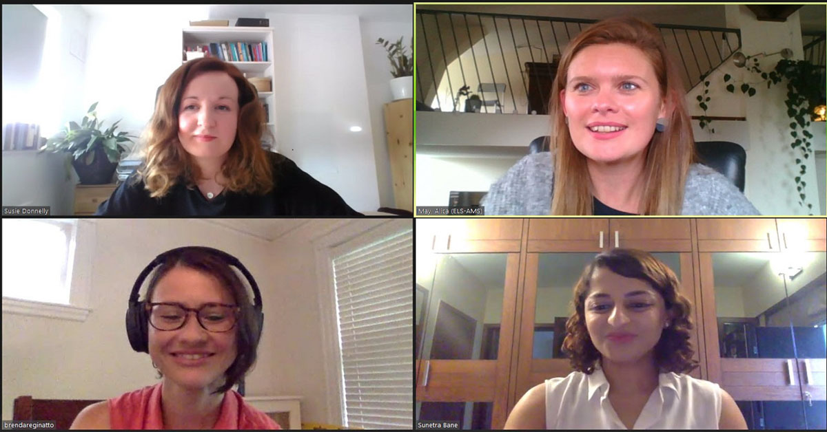 Empathy webinar presenters and moderator