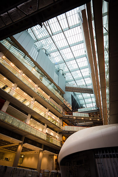 An inside look at the Francis Crick Institute