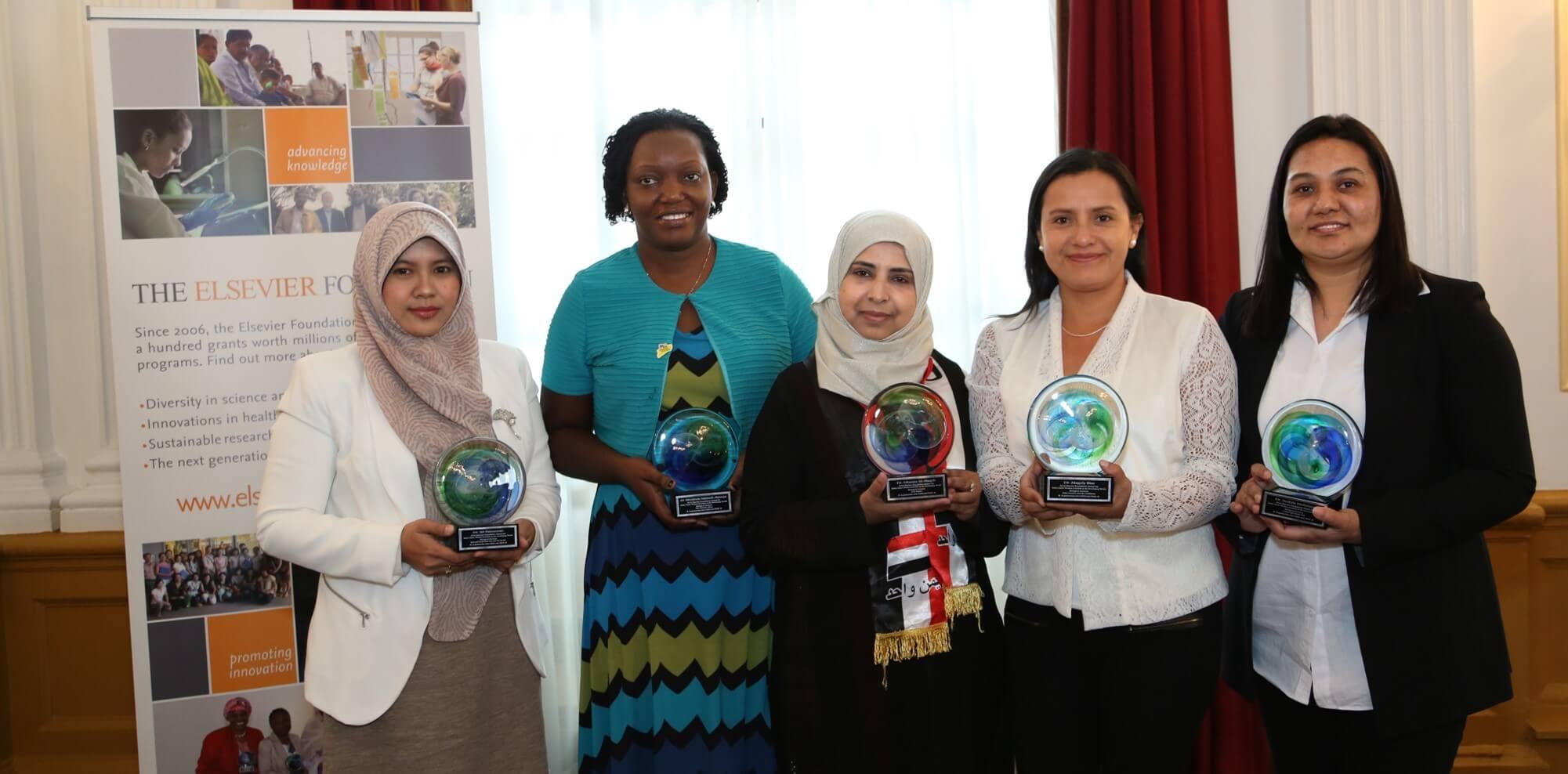 Elsevier foundation awardees