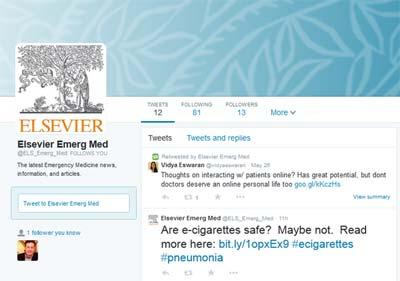 Elsevier Emergency Medicine on Twitter
