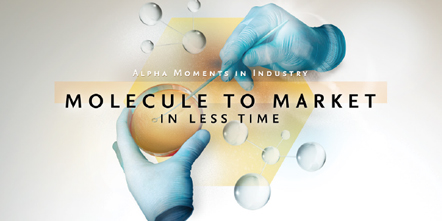 Alpha Moments in Industry – From Molecule to Market in Less Time
