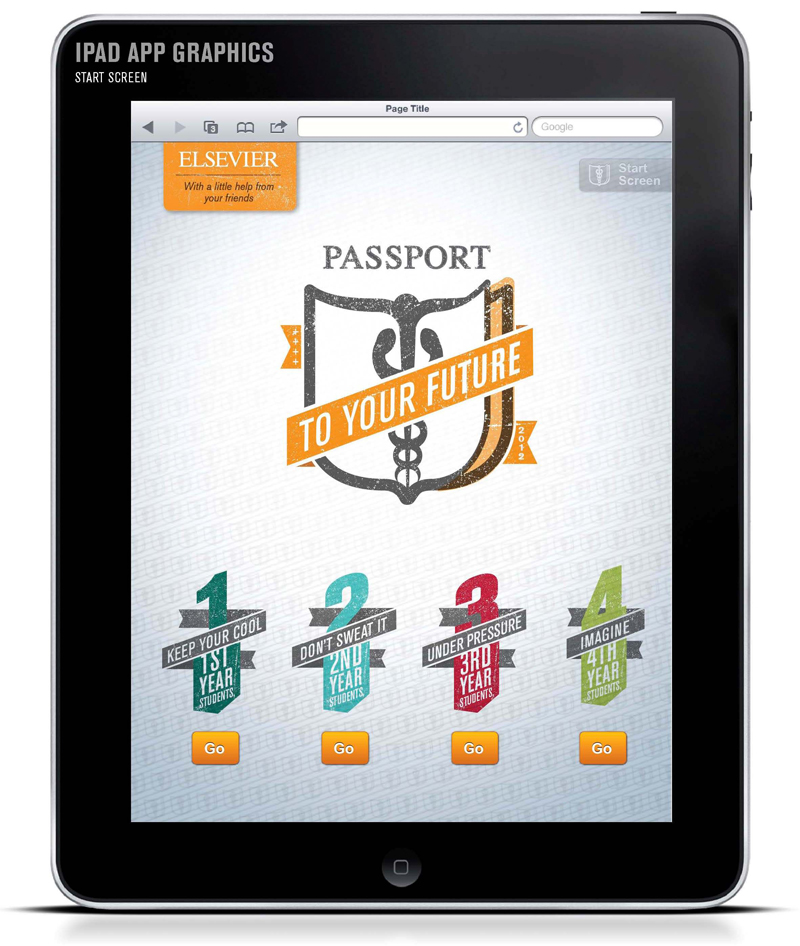 """Passport to the Future"" game on the iPad (click to enlarge)"