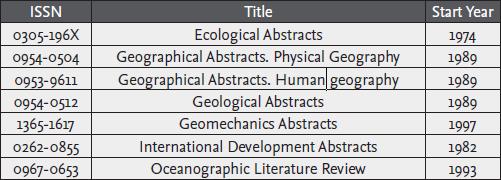 geobase chart