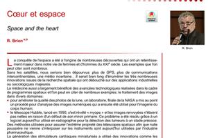 Dossier Cœur et espace: médecine spatiale