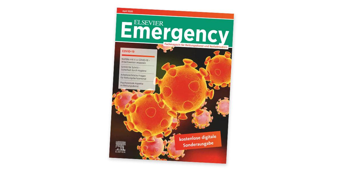 ELSEVIER Emergency Sonderausgabe COVID-19 jetzt online verfügbar