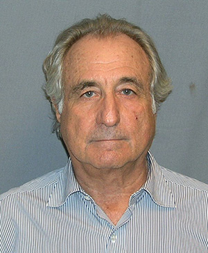 Madoff mugshot (Credit US Department of Justice, 2009)