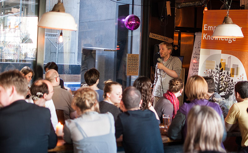 The first edition of Pint of Science in Germany was completely sold out.