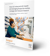 How UC Irvine and UCI Health are leveraging Scopus to monitor, manage and measure research