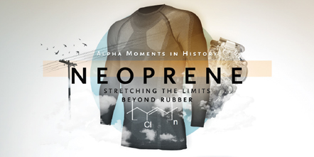 Alpha Moments in History – Neoprene: Stretching the Limits Beyond Rubber