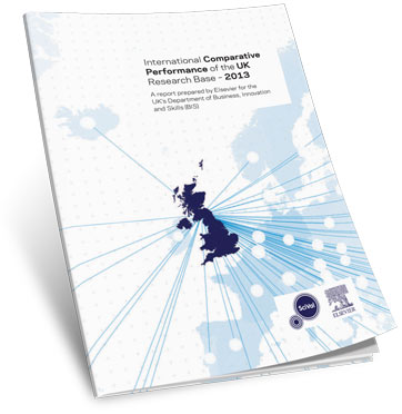 "The BIS 2013 report shows that ""the UK punches above its weight as a research nation."""