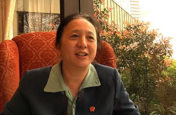 Professor Fang Xin, President of OWSD