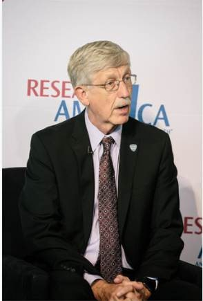 NIH Director Francis Collins, MD, PhD, was among the panelists.