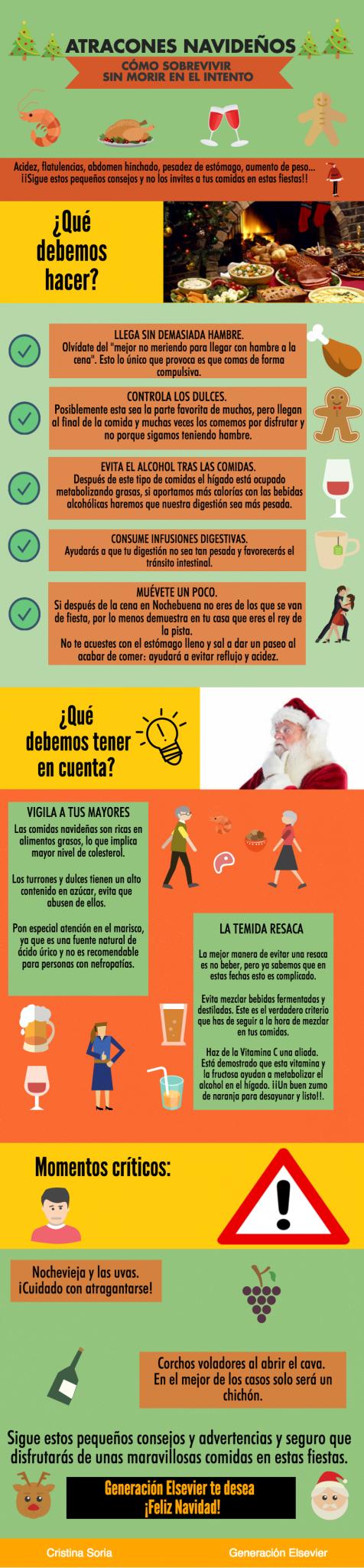 Consejos atracones navideños