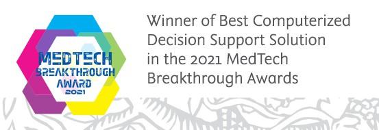 Winner MedTech Breakthrough Awards 2021