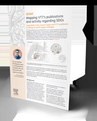Mapping VTT's publications and activity regarding SDGs