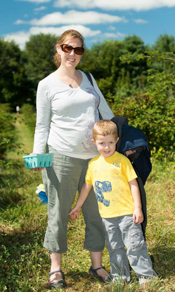 Mary Craige and her son, Liam