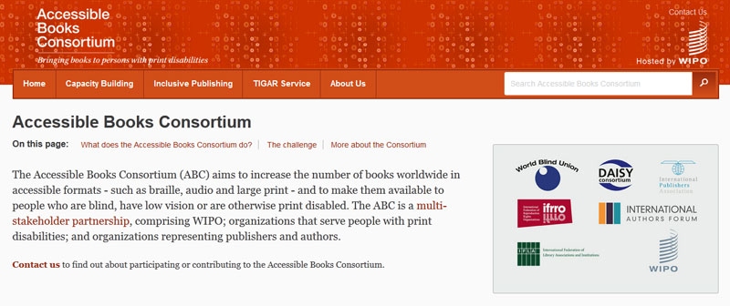 Accessible Books Consortium
