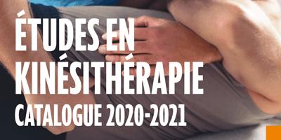 Le catalogue études en kinésithérapie 2020-2021