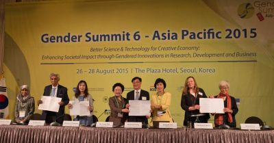 "Applying ""gender lens"" can help us achieve better health and disaster responses: Gender Summit founder"